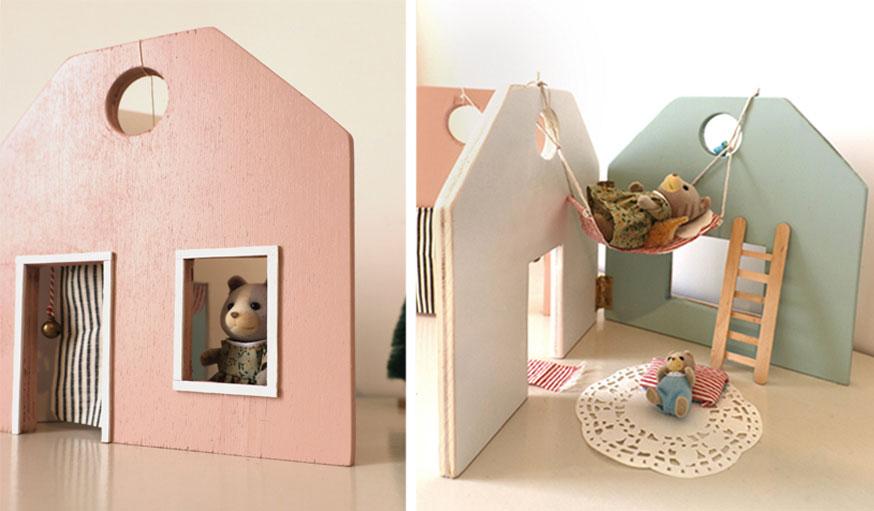 maison de poupées livre étape 7