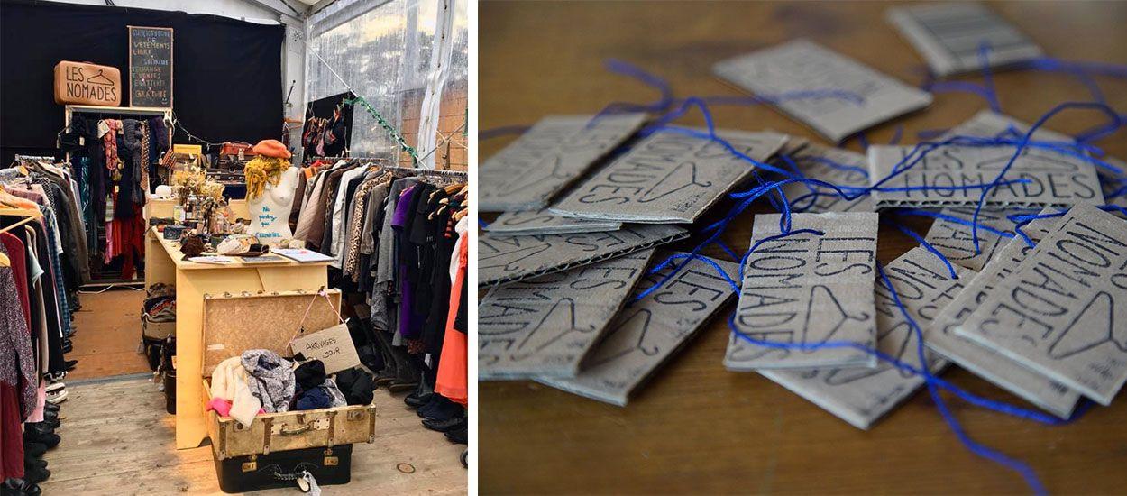 Cette association a lancé une bibliothèque de vêtements pour lutter contre le gaspillage