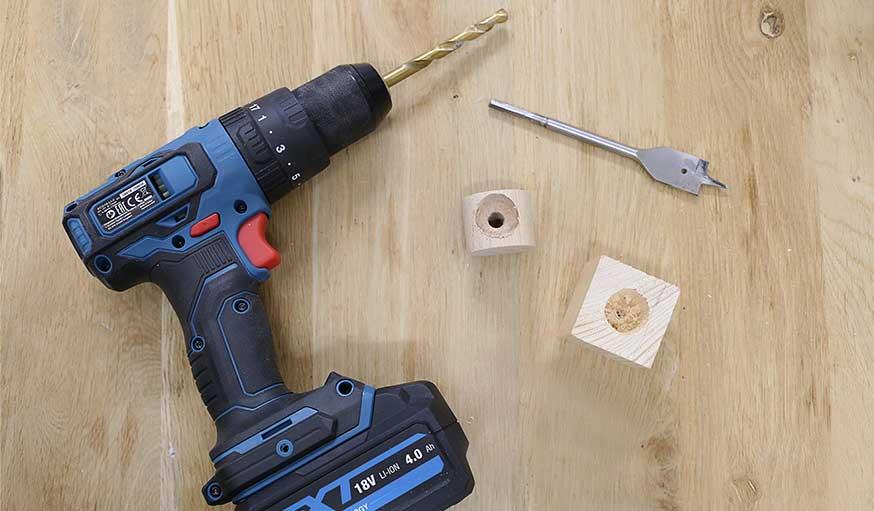 tutoriel bougeoirs en bois récup étape 3