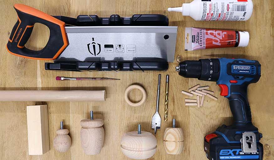 tutoriel bougeoirs en bois récup outils et matériaux