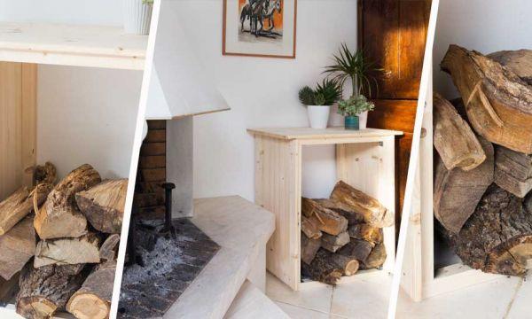 Tuto : Fabriquez un joli meuble pour ranger vos bûches