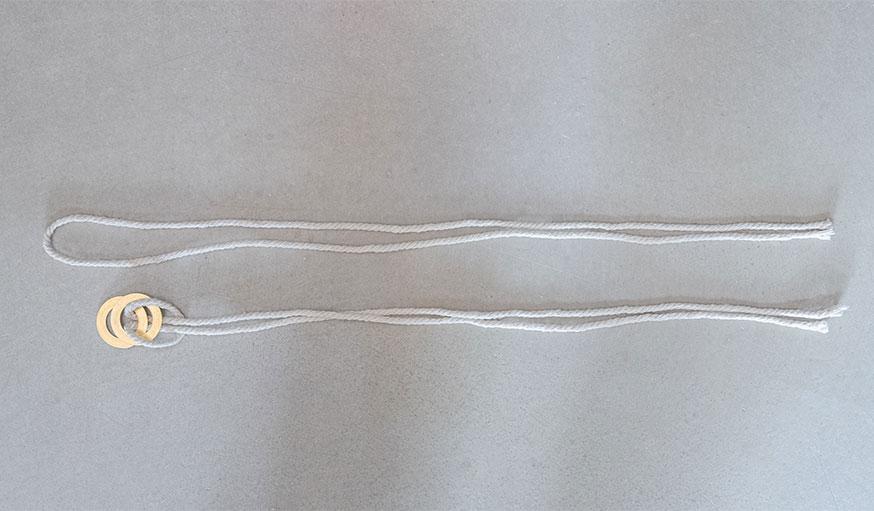 Tutoriel suspension en cuir pour plante étape 13