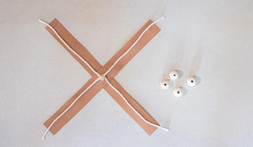 Tutoriel suspension en cuir pour plante étape 8