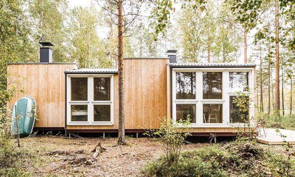 Ces deux amis ont construit une cabane de vacances en forêt pour 12 000 euros