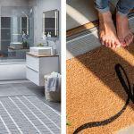 Chauffage au sol plancher chauffant pieds nus