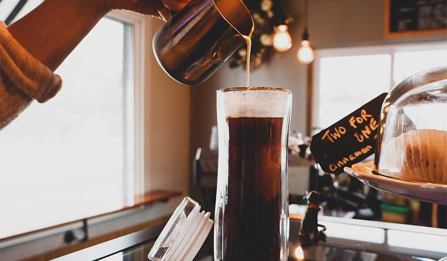 pas de gobelet en plastique pour le café