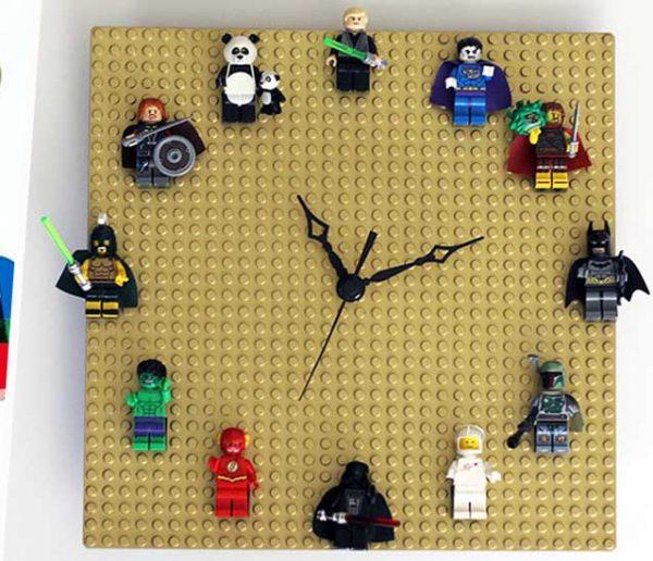 14 idées pour réutiliser les LEGO de vos enfants dans votre déco