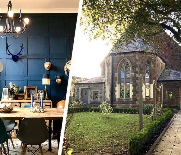 Ils ont transformé une chapelle en maison à la décoration éclectique