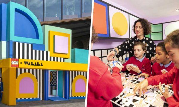 Une artiste et 180 enfants ont construit une maison entièrement en Lego