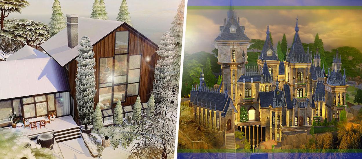 Anniversaire Des Sims Notre Selection Des 10 Maisons Les Plus Incroyables Du Jeu Video