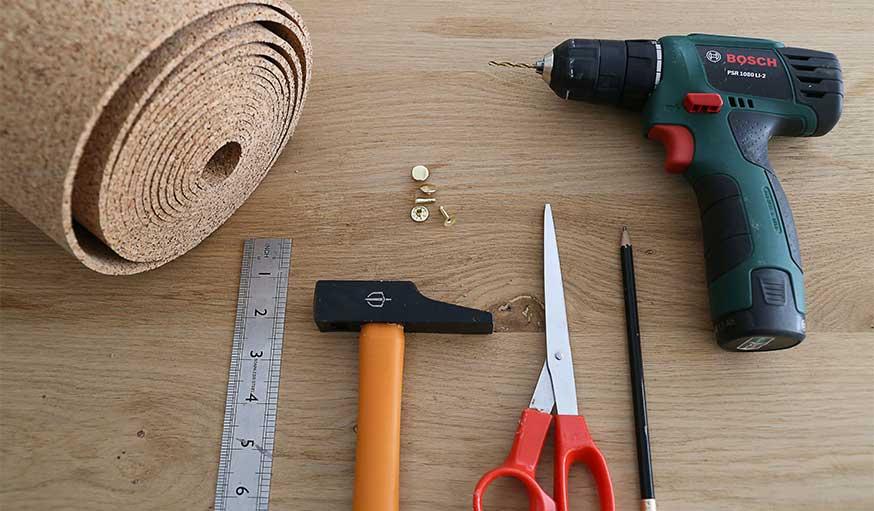 tutoriel fabriquer une corbeille en liège outils et matériaux
