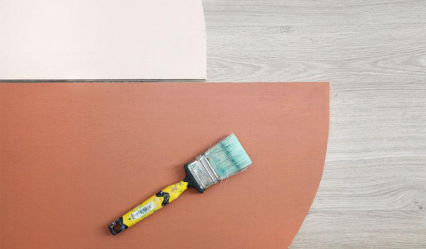 Tutoriel paravent papier peint étape 10