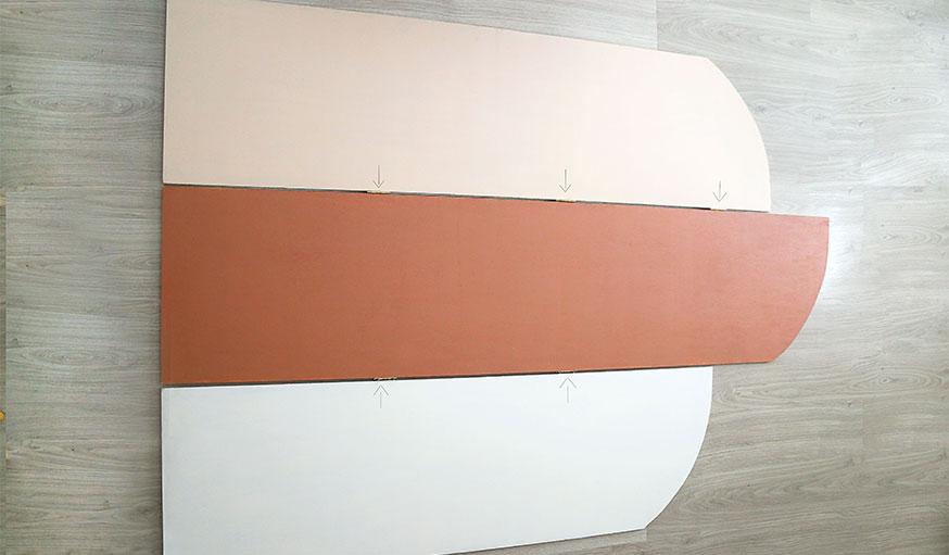 Tutoriel paravent papier peint étape 11