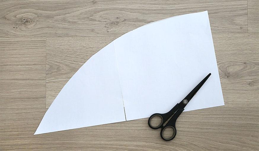 Tutoriel paravent papier peint étape 2