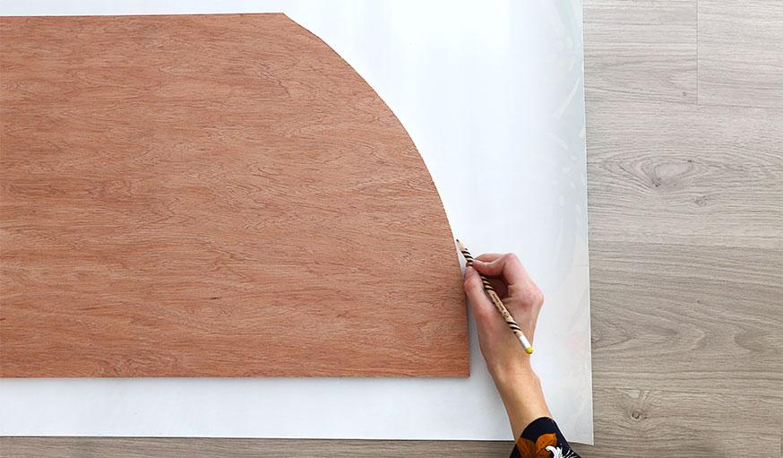 Tutoriel paravent papier peint étape 6