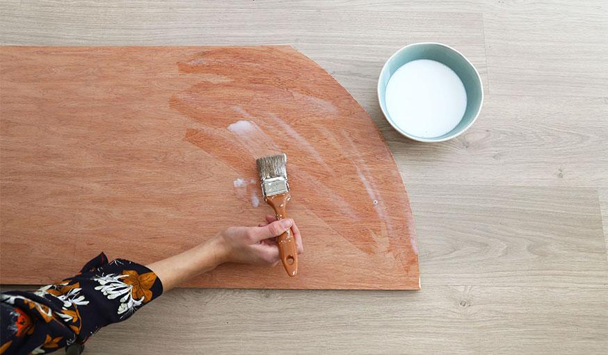 Tutoriel paravent papier peint étape 8