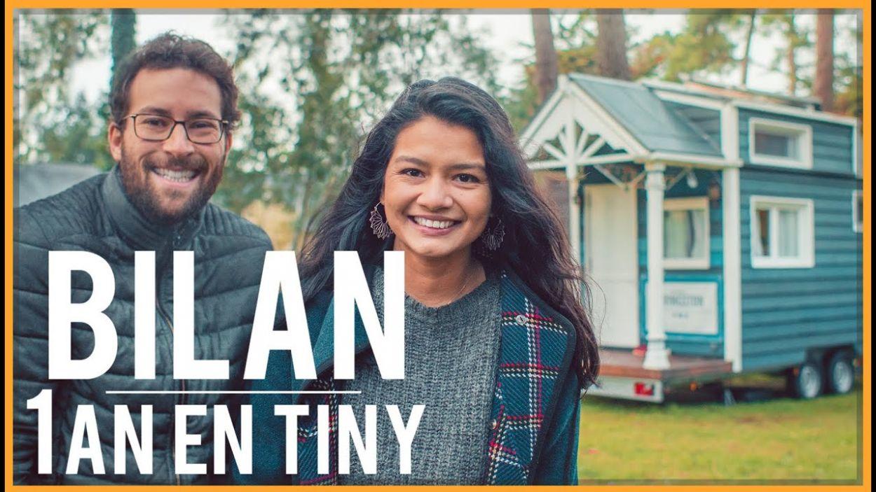 En couple dans une tiny house de seulement 8 m², ils font le bilan au bout d'un an