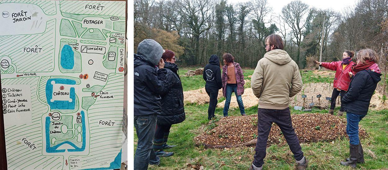 Ils réalisent leur rêve et créent un éco-village en Bretagne
