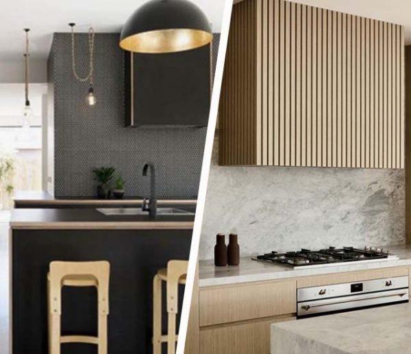 4 idées simples et chics pour cacher votre hotte de cuisine avec style