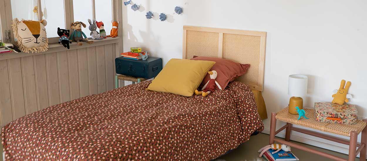 Tuto : Fabriquez une tête de lit en cannage pour enfant !