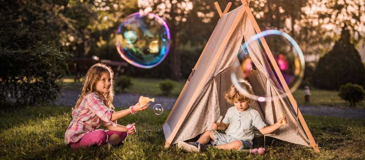 Transformez votre jardin en merveilleux terrain de jeu pour vos enfants, avec trois fois rien