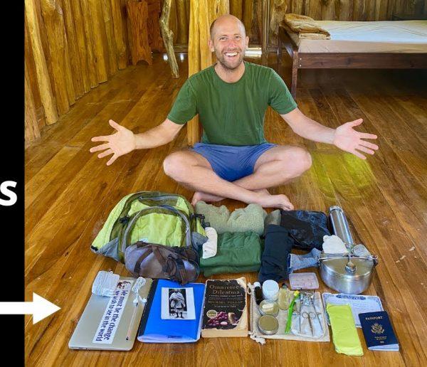 Minimalisme extrême : cet activiste écolo ne possède que 44 objets