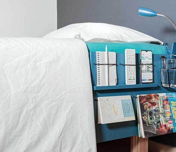 Tuto : Fabriquez un organisateur de lit pour petits espaces