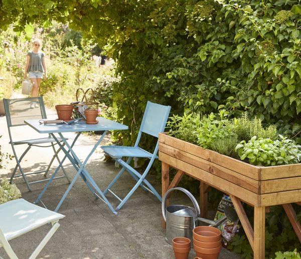 Les secrets d'un jardin ressourçant
