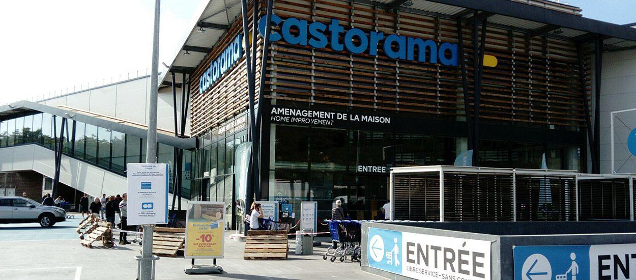 Certains magasins Castorama rouvrent en libre-service sans contact