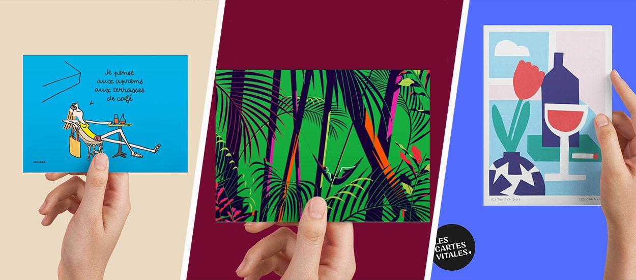 Des cartes postales signées par des artistes pour lutter contre le coronavirus