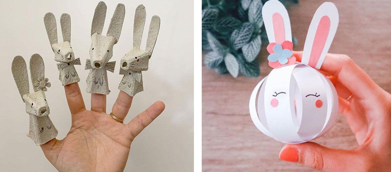 15 petites décos à réaliser avec vos enfants pour Pâques