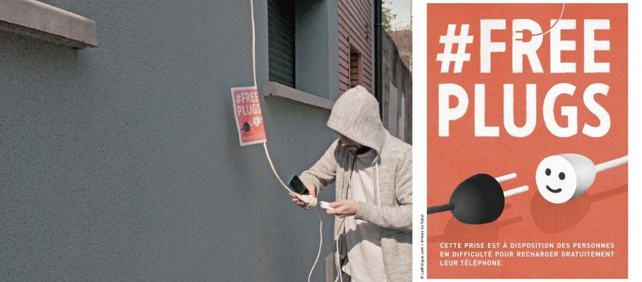 L'Armée du Salut invite à laisser une multiprise à sa fenêtre pour que les sans-abris rechargent leurs téléphones