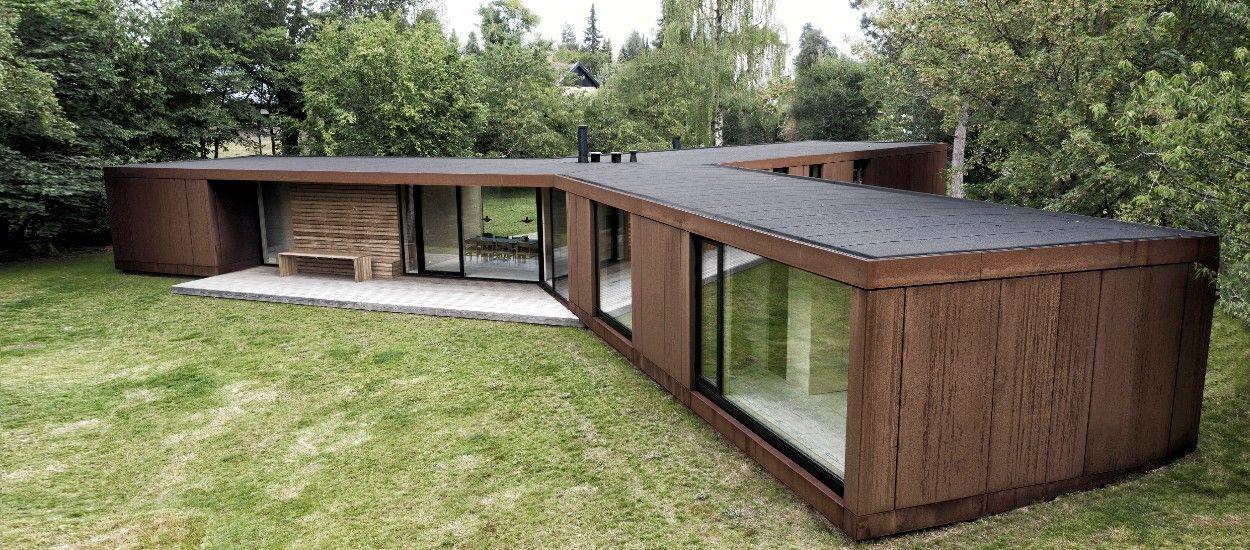Cette villa expérimentale en bois a été construite en seulement 3 jours