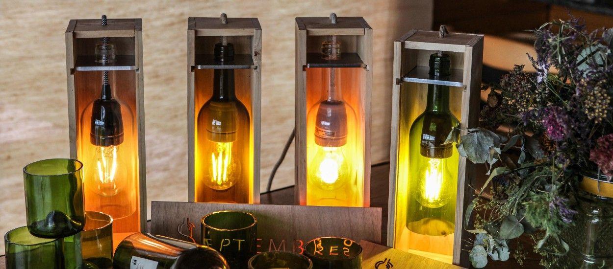 Cet artisan bordelais recycle des bouteilles de vin pour en faire des objets de décoration