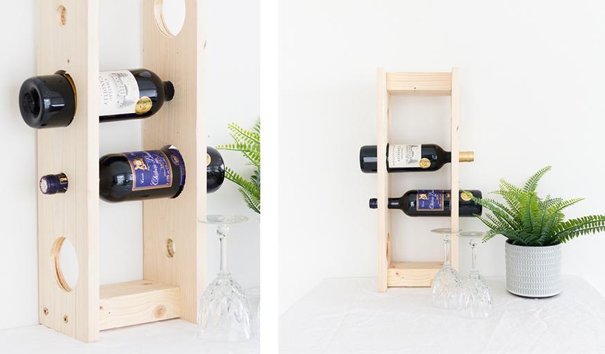 porte-bouteilles de vin range bouteilles