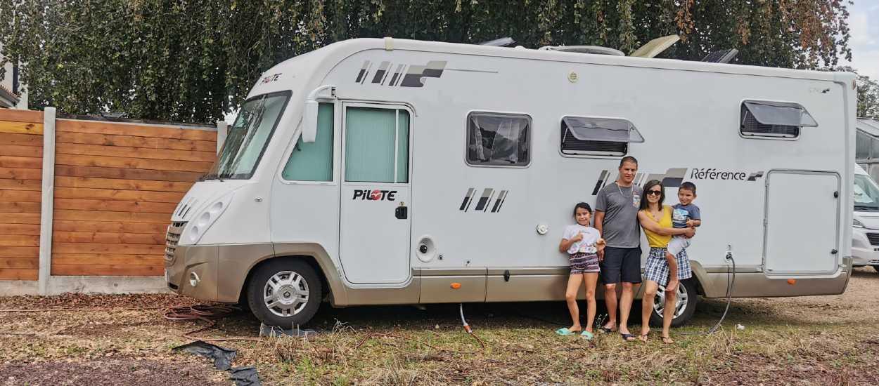 Cette famille part faire le tour d'Europe pendant un an en camping-car