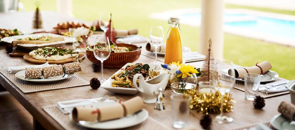 Les plus belles inspirations de tables à manger extérieures