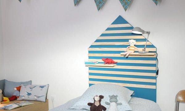 Tuto : Fabriquez une tête de lit pour enfant avec des tasseaux de bois