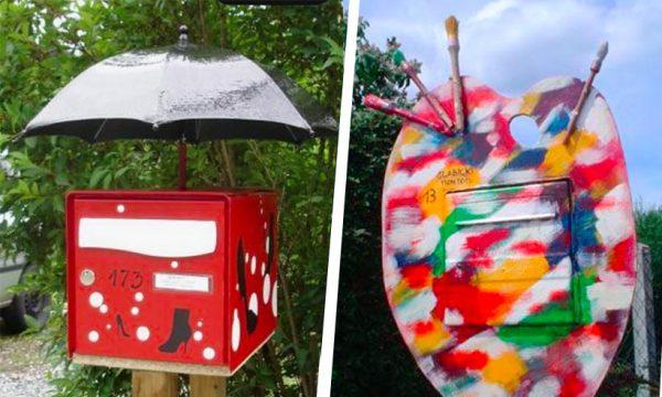 10 idées rigolotes pour relooker votre boîte aux lettres