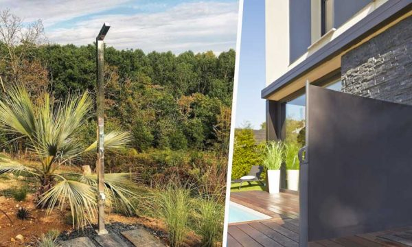 12 idées pour installer une douche extérieure de rêve dans votre jardin