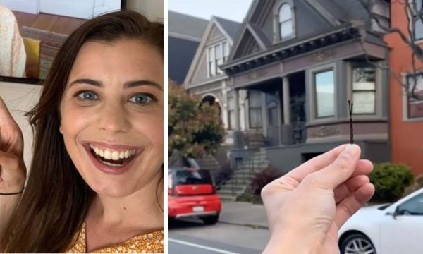 Elle se lance le défi de troquer une épingle à cheveux contre une maison