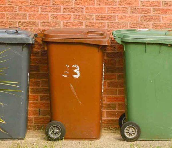 4 façons sympa de cacher sa poubelle d'extérieur