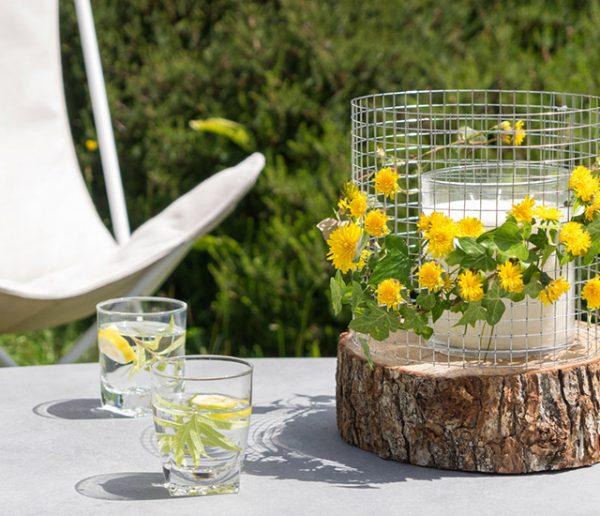 Tuto : Fabriquez un bougeoir récup' à fleurir pour votre balcon ou votre jardin