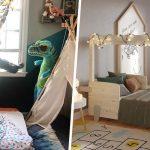 Inspiration de lits Montessori lits cabane tipi