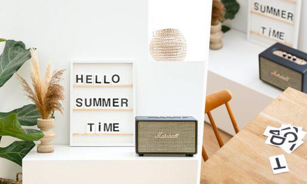 Tuto : Fabriquez un letter board en détournant un cadre photo
