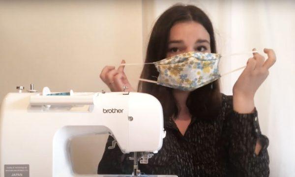 Vidéo : on vous apprend à fabriquer votre masque en tissu en 5 minutes