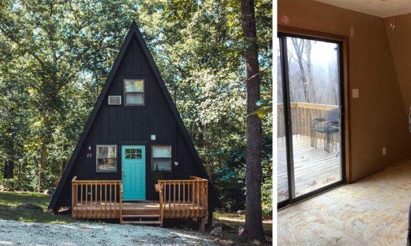 Avant / Après : Elle achète et rénove une maison triangle pour 40 000 euros !
