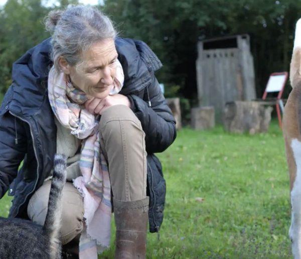 Geneviève vit seule dans un château entourée d'une quarantaine d'animaux et a besoin d'aide