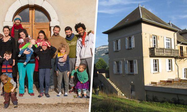 Ces six familles font revivre l'esprit des communautés des années 60, dans un château !