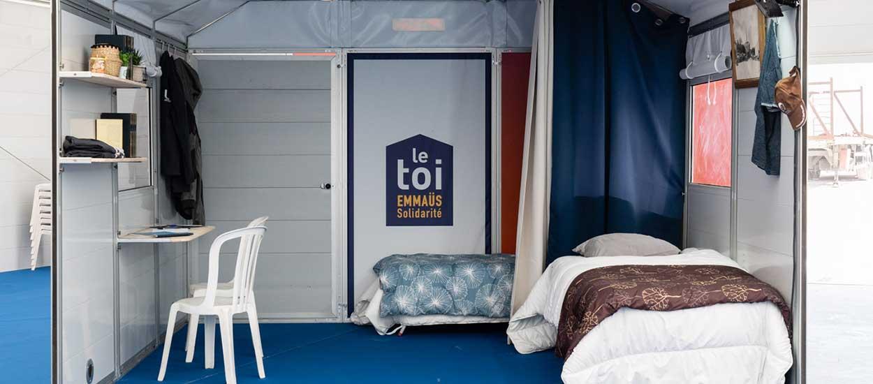 Emmaüs invente des maisons en kit pour un hébergement d'urgence plus intime